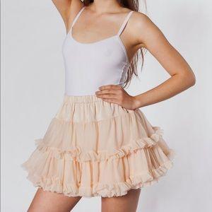 NWT American Apparel Multilayered Petticoat
